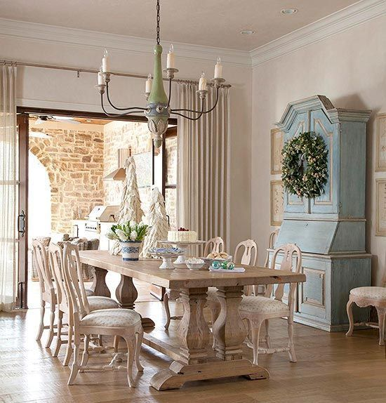 33 Charming And Beautiful Provence Dining Spaces (con immagini .