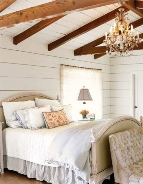 35 Chic Bedroom Designs With Exposed Wooden Beams - DigsDigs .