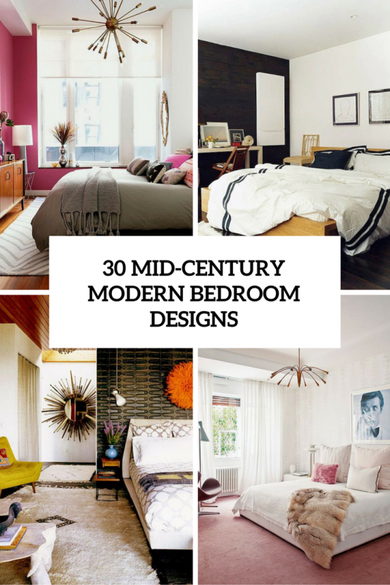 30 Chic And Trendy Mid-Century Modern Bedroom Designs | Mid .