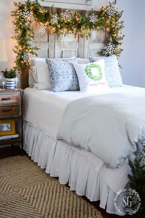 christmas-bedroom-decorating-ideas-5 – All About Christm