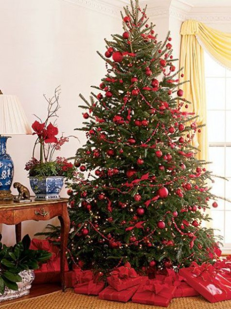 Red And Green Christmas Home Decor Ideas   ComfyDwelling.c