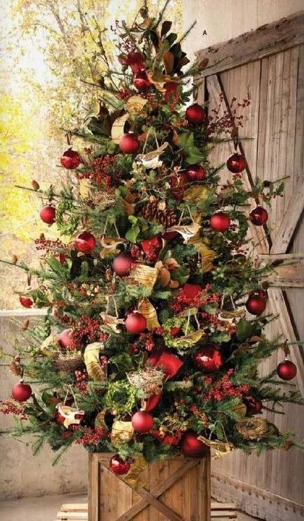 25 Traditional Red And Green Christmas Decor Ideas (With images .