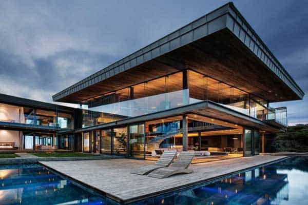 Double volume cliff-top estate in South Africa: Cove 3 Hou
