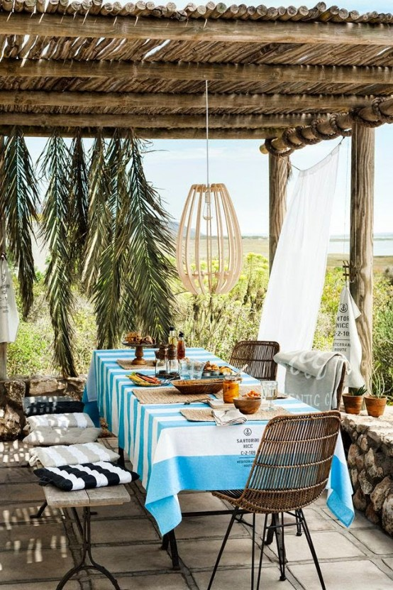 Colorful Mediterranean-Inspired H&M Outdoor Collection - DigsDi