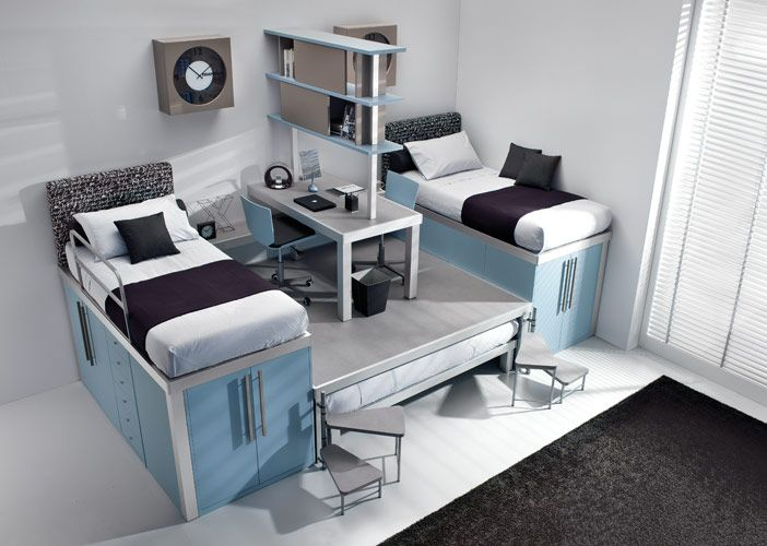 Colorful Teenage Loft Bedrooms by Tumidei | DigsDigs | Furniture .