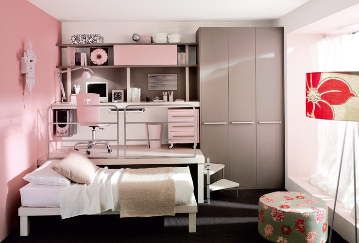 Colorful Teenage Loft Bedrooms By Tumidei Digsdigs, Small Loft .