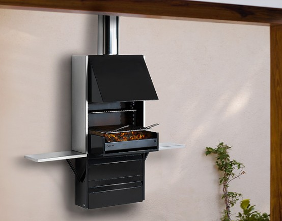 Compact Barbecue Grill - Plek 66 By Rocal - DigsDi