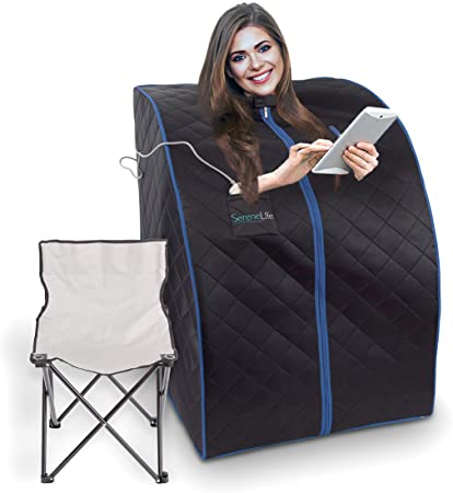 Amazon.com : SereneLife Oversize Portable Infrared Home Spa | One .
