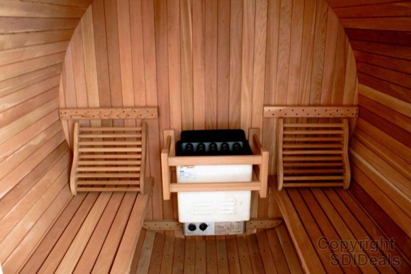Top 7 Best Outdoor Saunas To Afford In 2020 Revie