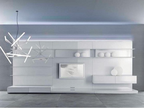 Completely Living Room Wall Panels Abacus Living by Rimadesio .