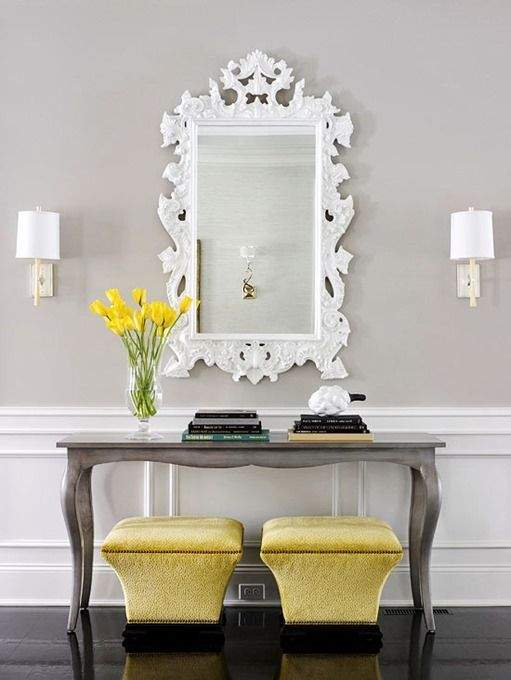 Gorgeous Console Tables for Summer Decoration   Decor, Mirror .