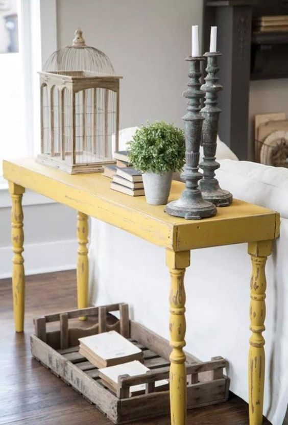 25 Ideas To Style Your Console Table For Summer - DigsDi