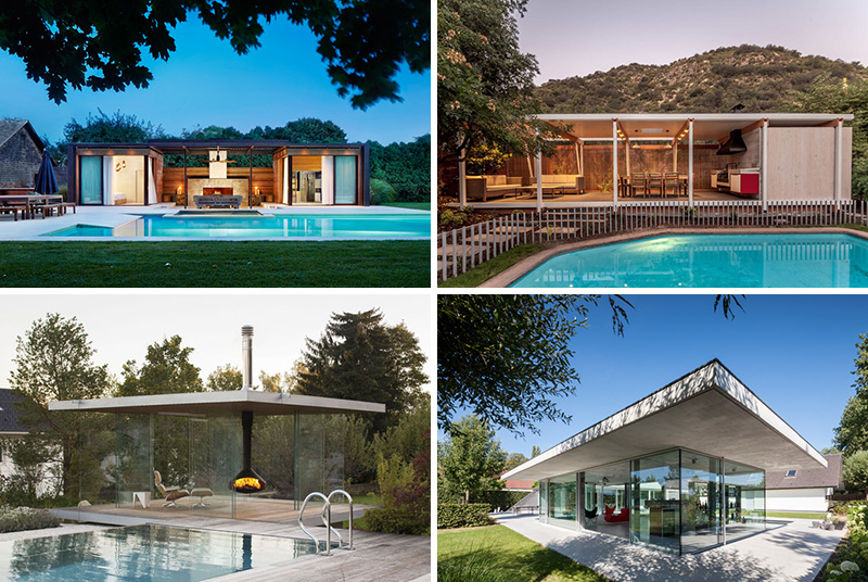 11 Modern Pool Houses To Get You Inspired For Summ