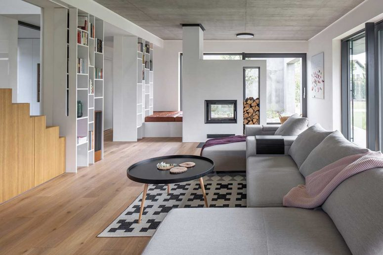 Contemporary Family House With A Neutral Color Palette - DigsDi