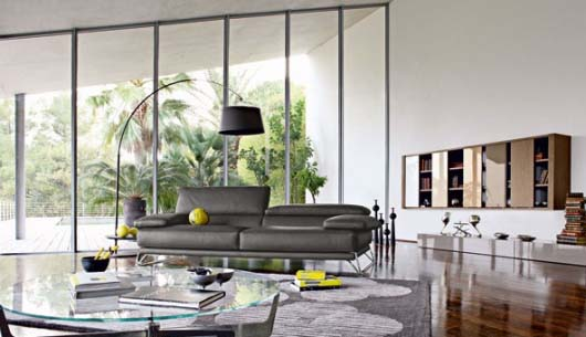 The new contemporary furniture collection for modern interior .