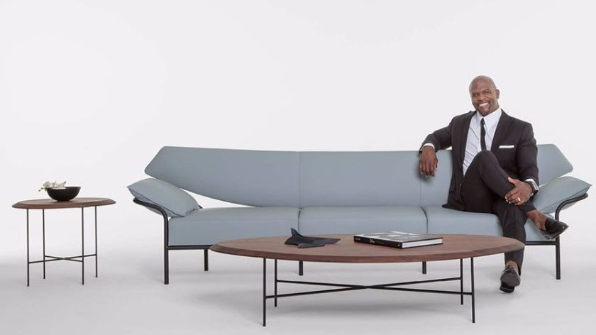 Actor Terry Crews introduces a contemporary furniture collection .
