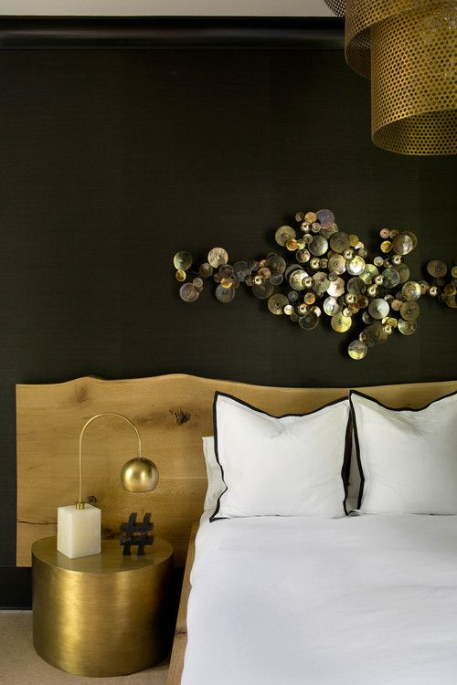 Modern Whimsical House With Glam Touches | Bedroom design, Decor .