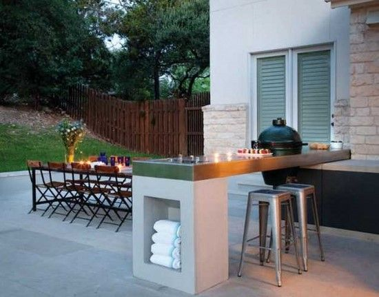 Ikea Outdoor Kitchen Island with a Table for Eight | Modern .