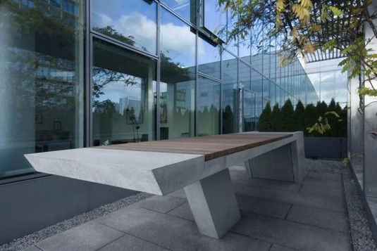 BBQ Grill and Table in Contemporary Design of Kinzo | Modern .