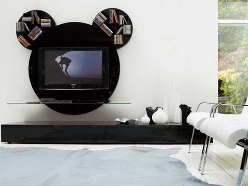 Contemporary-Round-Black-White-TV-Stands-by-Pacini-Cappellini.jpg .