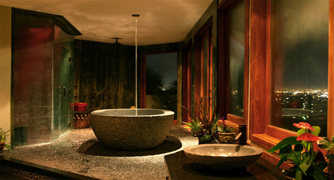 Design of Property: 10 Inviting Tropical Bathroom Ide