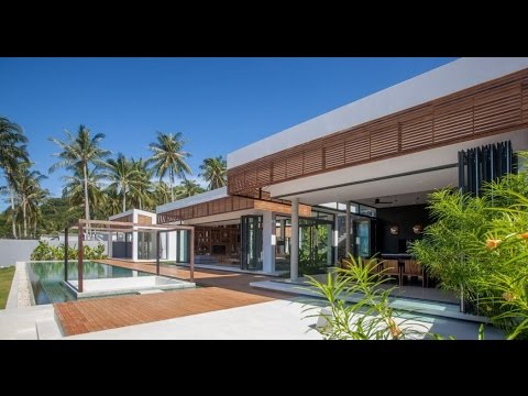 Contemporary Home Design with Modern Tropical and Minimalist Time .