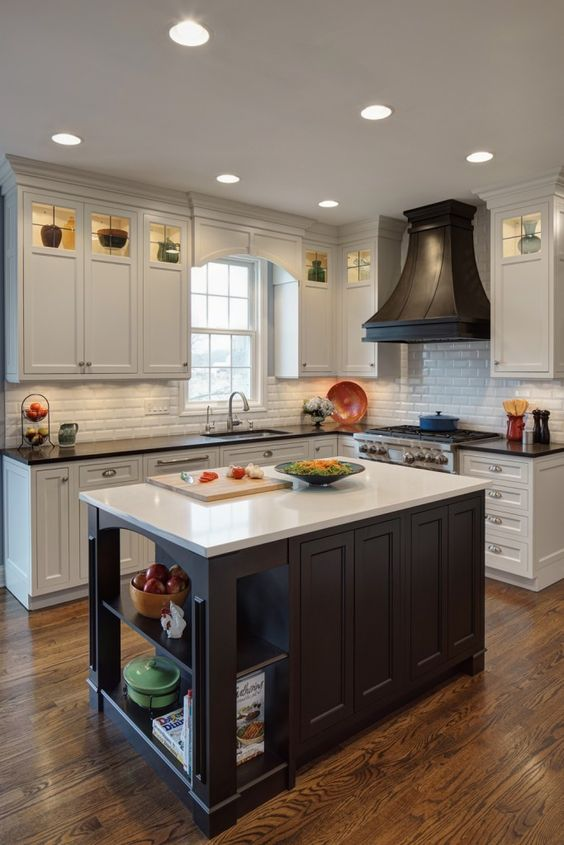 25 Trendy Contrasting Countertops For Your Kitchen - DigsDi