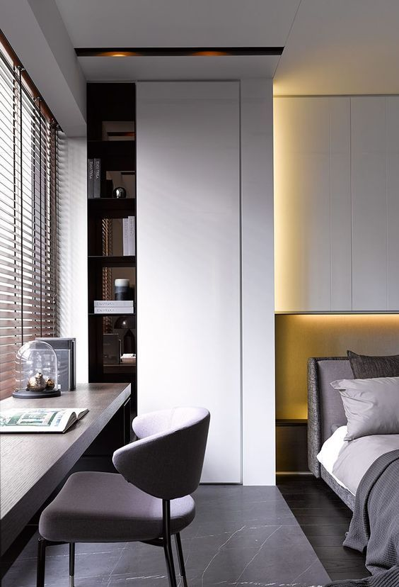 27 Cool Bedrooms And Workspaces In One - DigsDi