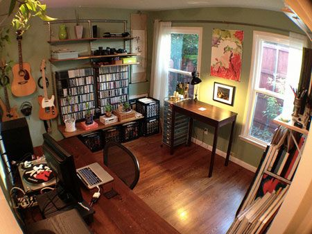 Workspace of the Week: All-in-one home office, music studio, and .