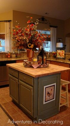 Fall Kitchen Decor Ideas   Articles and images about fall kitchen .
