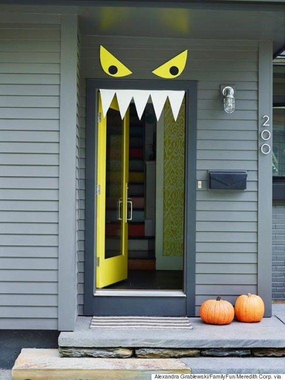 Over 17 Super Fun Halloween Themed Front Door and Porch Ideas .