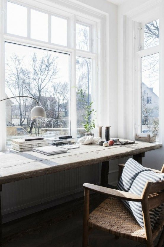 Cool Home Offices With Stunning Views in 2020 | Home office decor .