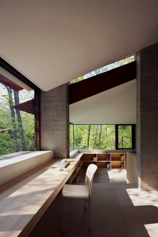 37 Cool Home Offices With Stunning Views | Architektur .