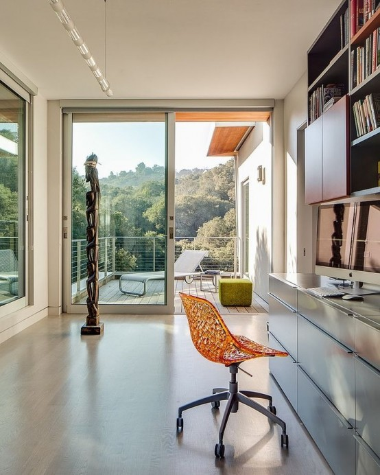37 Cool Home Offices With Stunning Views - DigsDi