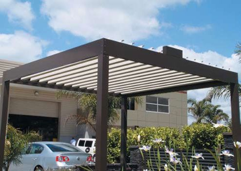 Cool Idea for Patio – Opening Roofs by Louvretec   DigsDigs .