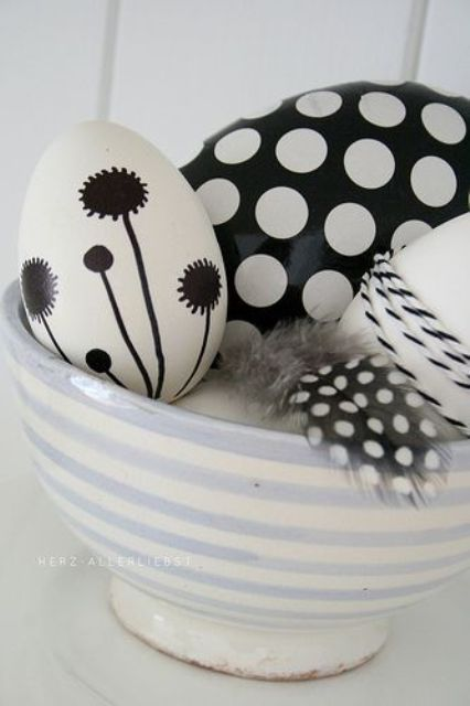 47 Cool Minimalist Easter Décor Ideas   DigsDigs   Easter egg .