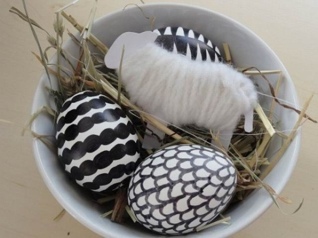 40 COOL MINIMALIST EASTER DECORATIONS.... - Godfather Sty