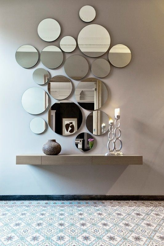 25 Edgy And Cool Mirrors For Your Entryway   Mirror design wall .
