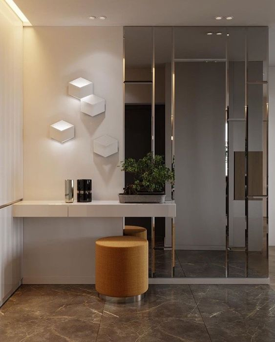 Where Can I Buy Wall Mirrors   Home entrance decor, Foyer design .