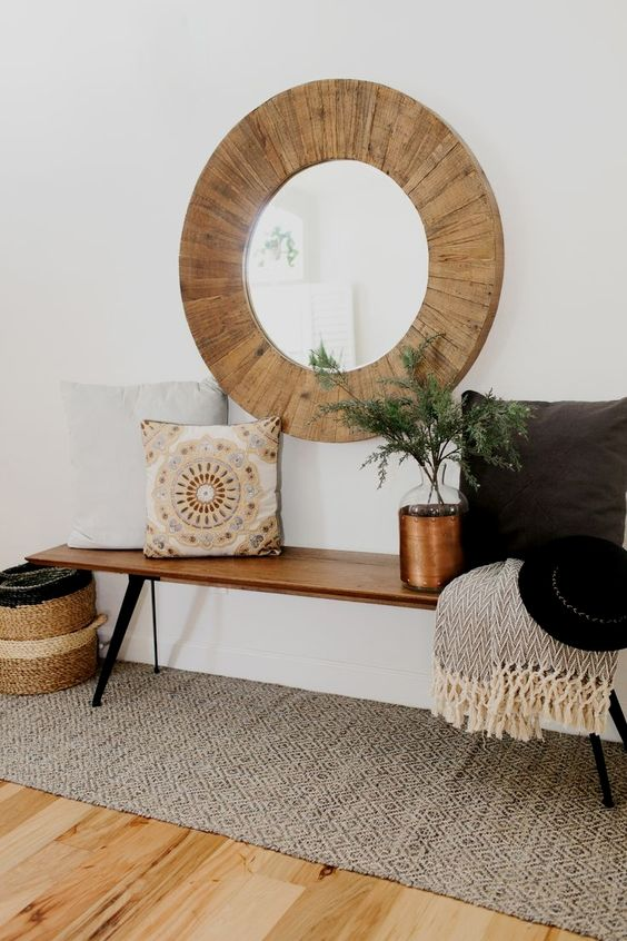 25 Edgy And Cool Mirrors For Your Entryway - DigsDi