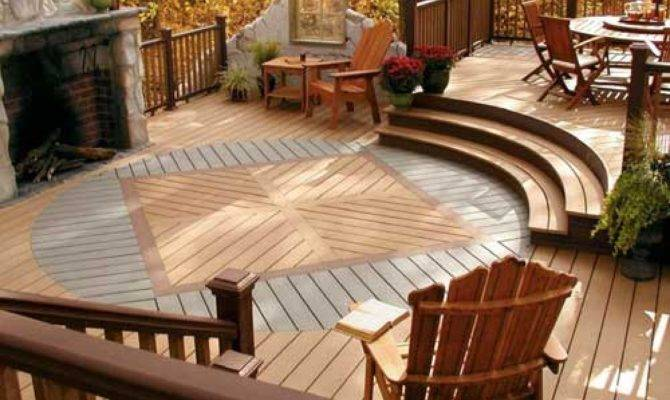 15 Cool Ideas For Outdoor Decks - House Pla