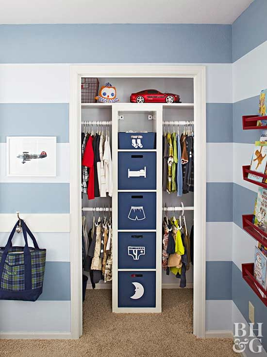 Genius Storage Ideas for Every Closet in Your Home | Kids room .