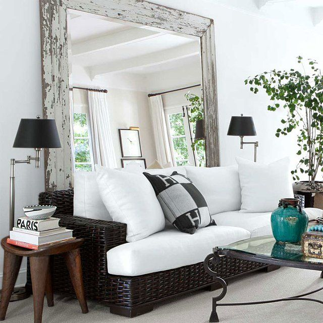 9 Ways to Fake Extra Square Footage With Mirrors | Cozy living .