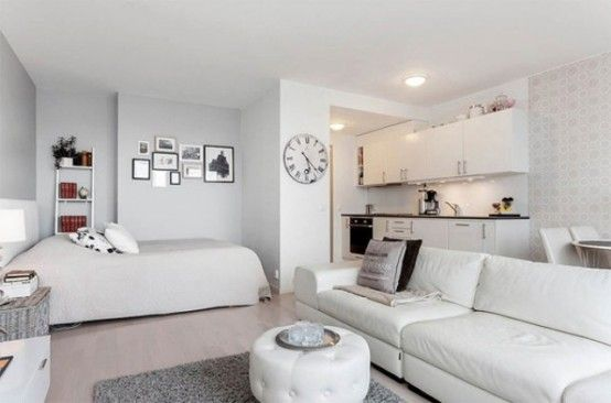 8 Cool Tips To Visually Expand A Small Space | Small apartment .