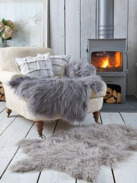28 Cool Ways To Cozy Up Your Living Room For Winter   Winter .