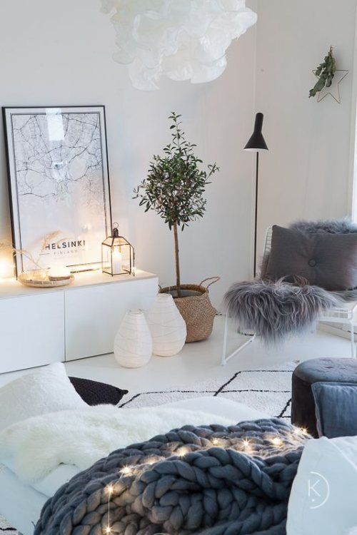 Cool Ways To Cozy Up Your Living Room For Winter in 2020   Living .