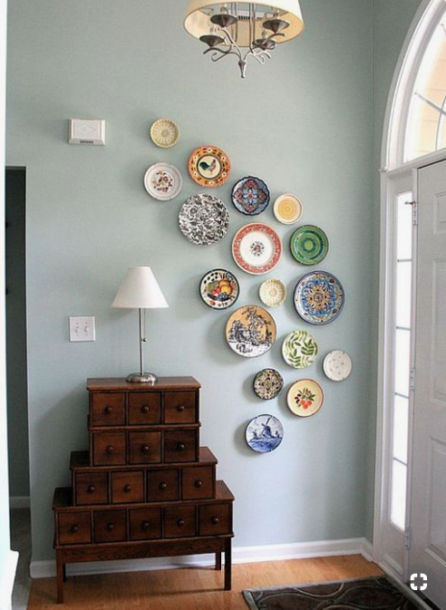 10 Creative Ways To Fill Up Blank Wall Space – Page 2 – Crafty .
