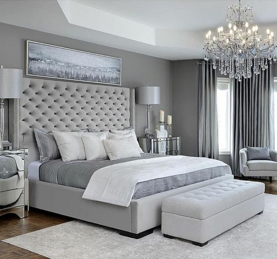10 Reasons Why You Should Choose A Grey Bedroom NOW   Decohol