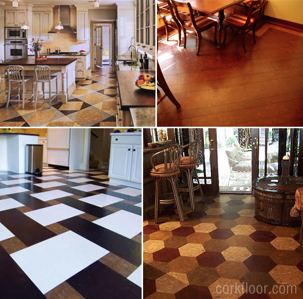 Kitchen Floors {How I Decided to Use Cork Tiles} - Pretty Handy Gi