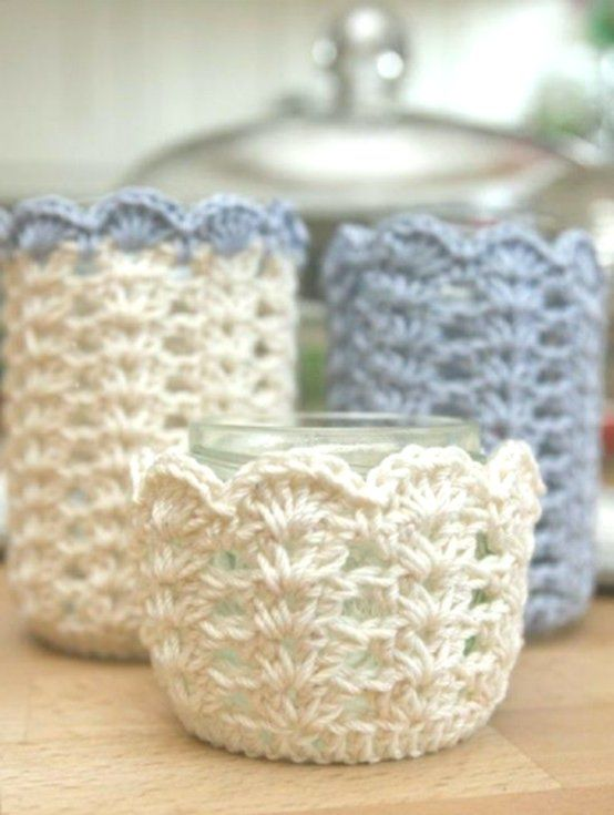 28 Cozy And Comfy Crocheted Pieces For Home Décor | DigsDigs .